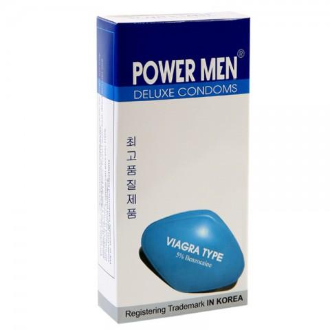 Bao cao su Power Men Deluxe cao cấp